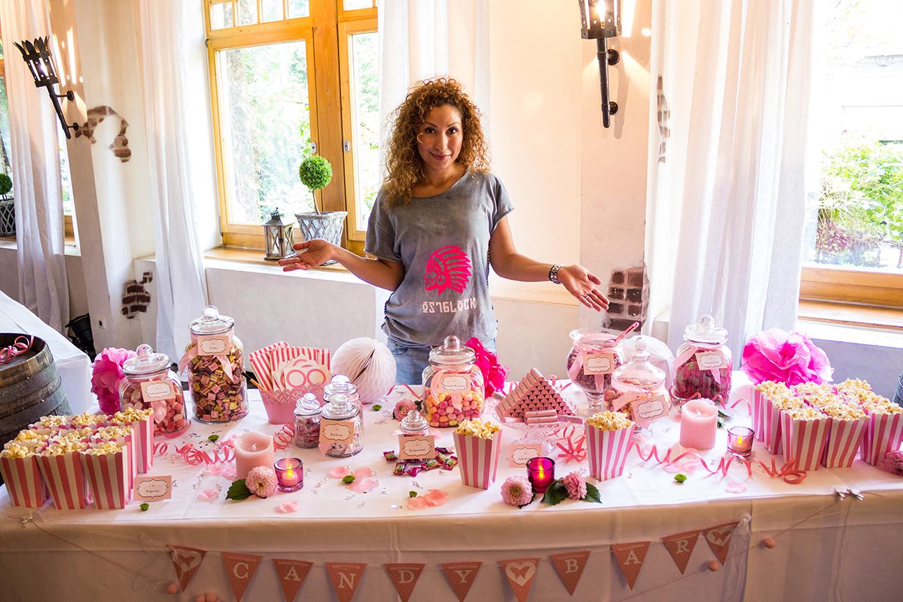 Mundus Candy Bar Hochzeit Rosa Lieferung Mundus
